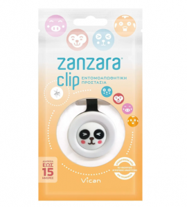 Vican Zanzara Clip Panda για Εντομοαπωθητική Προστασία, 1 τεμ