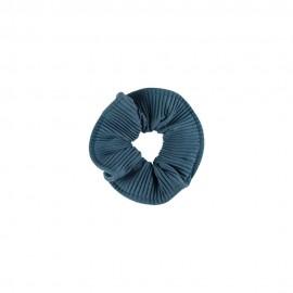Medisei Dalee Λαστιχάκι Μαλλιών Από Μαλακό Ύφασμα Μπλε Πλισέ, 1 Τεμάχιο