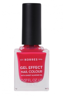 Korres Gel Effect Nail Colour 22 Juicy Fuchsia 11ml