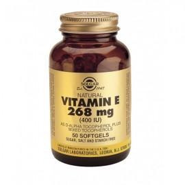 Solgar Vitamin E 400IU Συμπλήρωμα Διατροφής Βιταμίνη Ε με Ισχυρή Αντιοξειδωτική Δράση, Ιδανική για Όμορφο Δέρμα, 50softgels