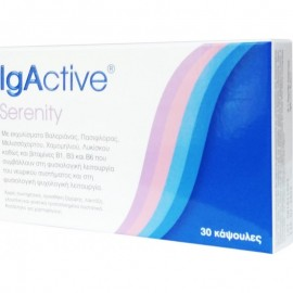 Igactive Serenity Συμπλήρωμα Διατροφής Του Νευρικού Συστήματος 30 Κάψουλες