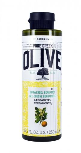KORRES Pure Greek Olive Αφρόλουτρο Περγαμόντο 250ml