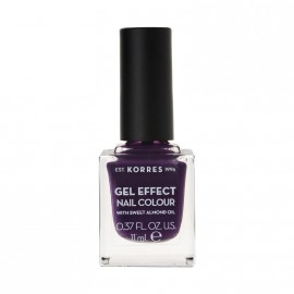 Korres Βερνίκι Νυχιών Gel Effect Nail Colour No75 Violet Garden 11ml