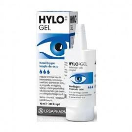 Ursapharm Hylo-Gel Λιπαντικές Οφθαλμικές Σταγόνες για την Μακράς Διάρκειας Λίπανση της Επιφάνειας του Οφθαλμού 10ml