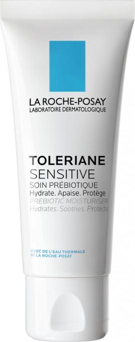 La Roche Posay Toleriane Sensitive Καθημερινή Ενυδάτωση με πρεβιοτικά που ανακουφίζει άμεσα το δέρμα από τα συμπτώματα Ευαισθησίας, 40ml