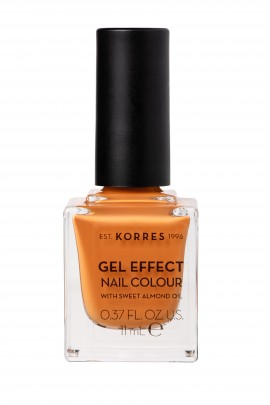 Korres Βερνίκι Νυχιών Gel Effect Nail Colour No92 Mustard 11ml