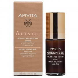 Apivita Queen Bee Ορός Lifting Προσώπου Ολιστικής Αντιγήρανσης με Ελληνικό Βασιλικό Πολτό σε Λιποσώματα 30ml
