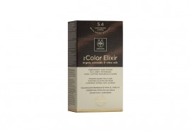 Apivita Βαφή Μαλλιών 5.4 My Color Elixir kit Μόνιμη ΚΑΣΤΑΝΟ ΑΝΟΙΧΤΟ ΧΑΛΚΙΝΟ