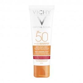 VICHY Capital Soleil SPF50 Anti-ageing 3in1 Antioxidant Care 50ml
