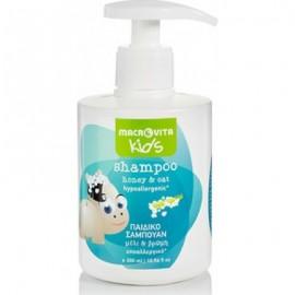 Macrovita Kids Shampoo Παιδικό Σαμπουάν με Bρώμη & Mέλι 300ml
