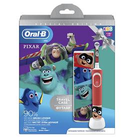 Oral-B Παιδική Επαναφορτιζόμενη Ηλεκτρική Οδοντόβουρτσα Vitality Special Edition Pixar Kids 3+, 1τεμ.