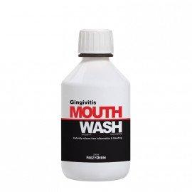 Frezyderm Gingivital Mouthwash Φθοριούχο Στοματικό Διάλυμα για την Αντιμετώπιση Συμπτωμάτων Ουλίτιδας, 250ml