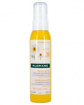 Klorane Hair Spray Σπρέι με Χαμομήλι & Μέλι για την Ανάδειξη των Ξανθών Μαλλιών, 125ml