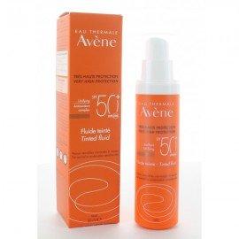 Avene Solaire Fluide SPF50+ Teintee, Αντηλιακή Κρέμα Προσώπου με Χρώμα Λεπτόρρευστη, 50ml