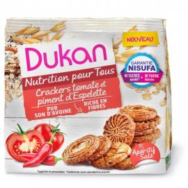 Dukan Κράκερς Βρώμης με Ντομάτα & Πιπεριά 100gr