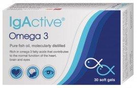 IgActive Συμπλήρωμα Διατροφής Omega 3 1000mg 30 Μαλακές κάψουλες