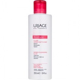 Uriage Roseliane Fluide Dermo-Nettoyant Λοσιόν Καθαρισμού & Ντεμακιγιάζ για Ευαίσθητη & με Τάση σε Κοκκινίλες Επιδερμίδα, 250ml