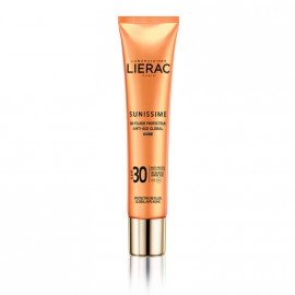 Lierac Sunissime BB Fluide Protecteur Anti-Age Global SPF30 Golden Λεπτόρρευστη Αντηλιακή & Αντιγηραντική Κρέμα Προστασίας με Χρώμα, 40ml