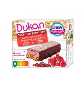 Dukan Γκοφρέτες βρώμης με σοκολάτα & Μούρα 4 τεμάχια