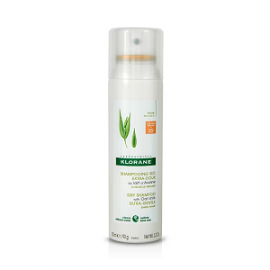 Klorane Dry Shampoo with Oat Milk Ultra-Gentle Ξηρό Σαμπουάν με Γαλάκτωμα Βρώμης για Καστανά-Σκούρα Μαλλιά, 150ml