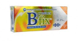 Unipharma B COMPLEX FIX ORODISPERSIPLE TABLETS 30tabs