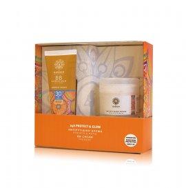 Garden Promo Pack Sunscreen 24h Protect & Glow, BB Face Cream Spf30 με Χρώμα, 50ml & Αντιρυτιδική Κρέμα για Πρόσωπο και Μάτια, 50ml