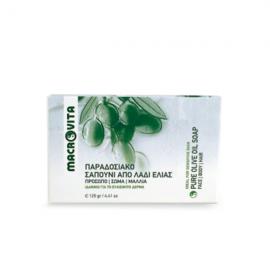 Macrovita Παραδοσιακό σαπούνι από λάδι ελιάς 125gr