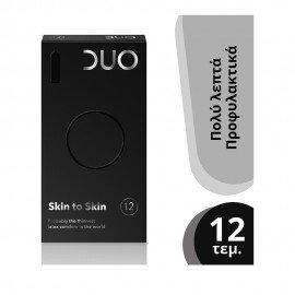 DUO Προφυλακτικά Premium Skin To Skin, 12τμχ