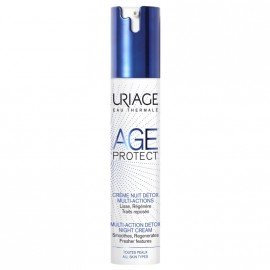 Uriage Age Protect Multi-Action Detox Night Cream, Κρέμα Νύχτας Detox Πολλαπλών Δράσεων 40ml