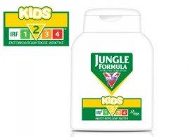 Omega Pharma Jungle Formula Kids με IRF2, Εντομοαπωθητική Λοσιόν Κατάλληλη για Παιδιά άνω των 2 ετών, 125ml