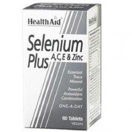 HEALTH AID SELENIUM PLUS (VITAMINS A, C, E & ZINC) TABLETS 60S