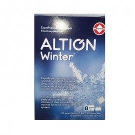 Altion Winter Συμπλήρωμα Διατροφής με Προβιοτικά & Βιταμίνη C για Ενίσχυση του Ανοσοποιητικού Συστήματος για Ενήλικες & Παιδιά άνω των 3 ετών, 20 φακελάκια