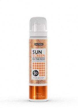 Frezyderm Αντηλιακό Spray Προσώπου SPF50, Sun Screen On The Move, 75ml