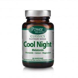 Power Health Classics Platinum Range Cool Night, Συμπλήρωμα Διατροφής για Διαταραχές Ύπνου, 30 Κάψουλες