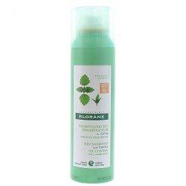 Klorane Dry Shampoo, Ξηρό Σαμπουάν με Τσουκνίδα για Καστανά-Σκούρα Λιπαρά Μαλλιά, 50ml