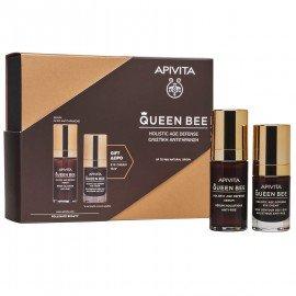 Apivita Promo Queen Bee Serum Ορός Ολιστικής Αντιγήρανσης, 30ml & Δώρο Queen Bee Κρέμα Ματιών, 15ml