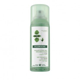 Klorane Shampooing Sec a L Ortie Dry Shampoo with Nettle Oily Control Ξηρό Σαμπουάν με Τσουκνίδα για Λιπαρά Μαλλιά 50ml