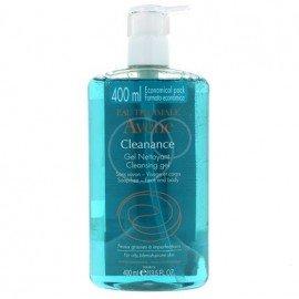 Avene Cleanance Gel Nettoyant, Τζελ Καθαρισμού για Πρόσωπο & Σώμα για Λιπαρό Δέρμα / Με Τάση Ακμής, 400ml