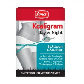 Lanes Kcaligram Συμπλήρωμα Διατροφής για το Αδυνάτισμα Day & Night, , 60 ταμπλέτες