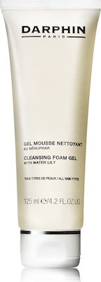 Darphin Cleansing Foam Gel with Water Lilly Απαλό Τζελ Καθαρισμού Προσώπου για Δέρμα με Τάση την Ξηρότητα, 125 ml