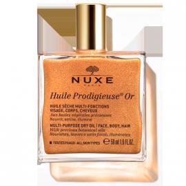 Nuxe Huile Prodigieuse Or Ιριδίζον Ξηρό Λάδι για Πρόσωπο-Σώμα-Μαλλιά, 50ml