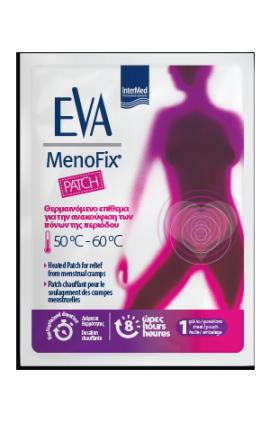Intermed Eva Intima Menofix Θερμαινόμενο Επίθεμα για Πόνους Περιόδου, 1τμχ