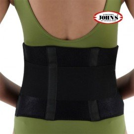 Johns Ζώνη Ορθοπεδική Lumbo Wrap Around Black Line One Size S-XL (Κωδικός: 120211)