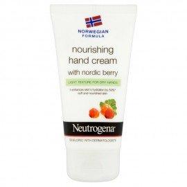 Neutrogena Κρέμα Χεριών Θρέψης με Nordic Berry και Ελαφριά Υφή για Ξηρά Χέρια 75ml