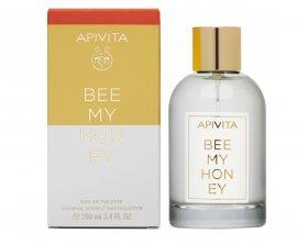 Apivita Bee My Honey Eau De Toilette Φρέσκο Άρωμα με Εσπεριδοειδή & Λουλούδια & Μέλι, 100ml