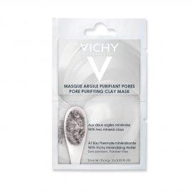 Vichy Masque Pore Purifying Clay, Μάσκα Αργίλου για Καθαρισμό και Σύσφιξη Πόρων, Sachets 2x6ml