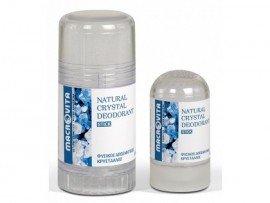 Macrovita Natural Crystal Deodorant Φυσικός Κρύσταλλος Άοσμος Stick 120gr