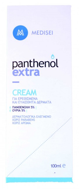 Panthenol Extra Cream Κρέμα για Ερεθισμένα & Ευαίσθητα Δέρματα 100ml
