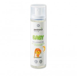 Medisei Panthenol Extra Baby Relaxing Oil Λάδι Ενυδάτωσης & Φροντίδας για Βρεφικό Μασάζ 100ml