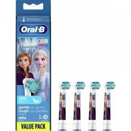 Oral-B Ανταλλακτικές Κεφαλές Παιδικές Kids Frozen, 4 τεμ.